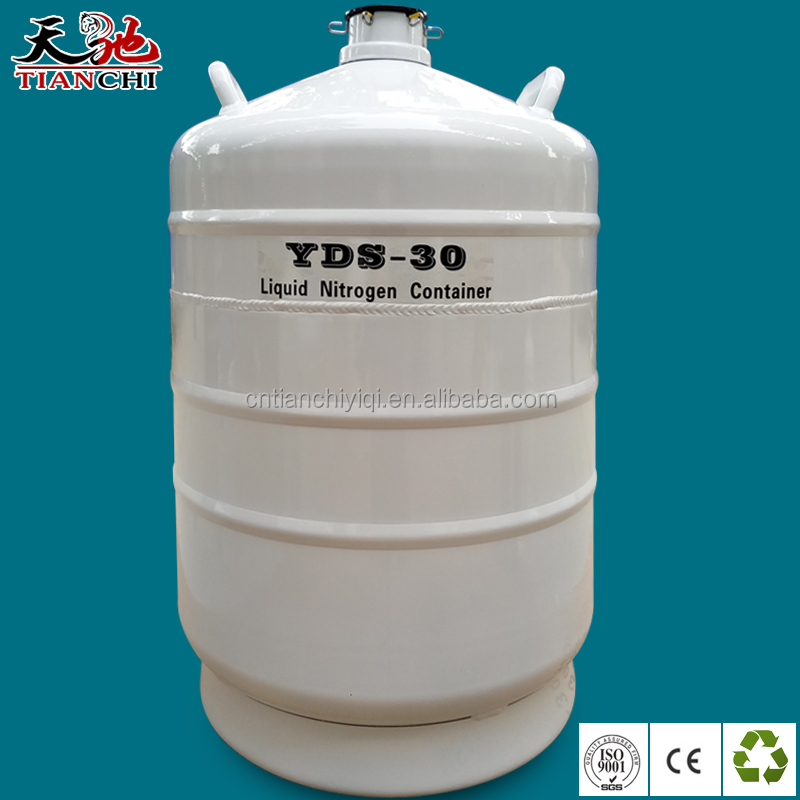 Small capacity YDS-30 liquid nitrogen cryogenic <strong>containers</strong> for sale