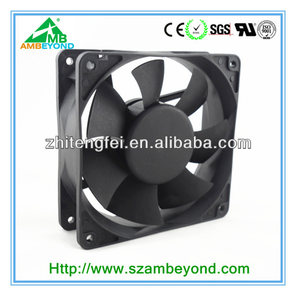 120mm Black Computer PC Cooling Case Cooler Fan 4-Pin