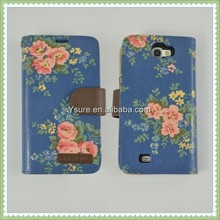 New Product Bright Flower Pattern Design Case for Samsung Galaxy S3 I9300