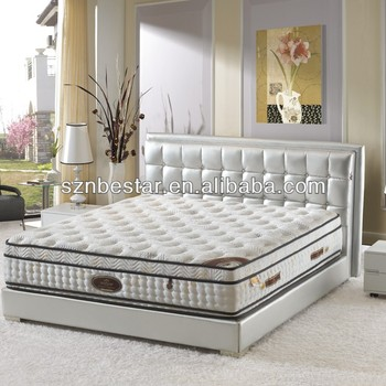 Hot sale euro-top elegant pocket spring mattress