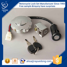 hotselling CG125 motorcycle lock set for honda dio parts