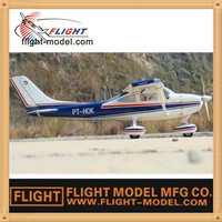 New Upgraded Hobby Cessna 182 67.3'' Fiberglass Nitro RC Plane