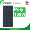 Good price per watt poly 150w 18v solar panel with long use life