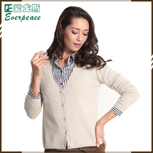 2018 cashmere color latest new style ladies chunky cable cardigan womans sweater