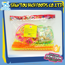 hot sale candy rotate flying toy candy