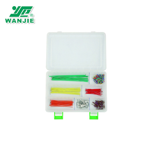 350PCS of 22 AWG Solid Jumper Wires (BBJ-350)