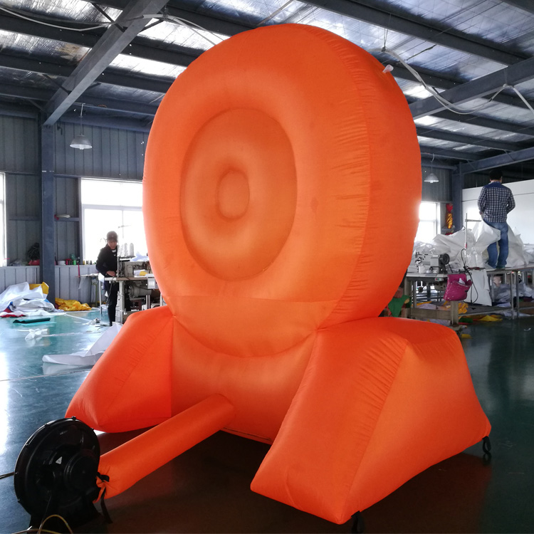 Guangzhou custom advertising inflatable air body dummy inflatable sport games dart board