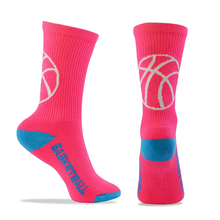 High Quality custom design sublimated basketball sport socks