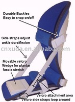 knee walker fixer brace/shoes