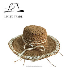 Various kinds factory price hot sell paper straw hat ladies
