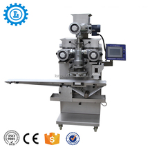 High speed Double filling red bean pie Encrusting Machine