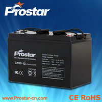 Prostar best agm deep cycle solar batteries 12v 100ah