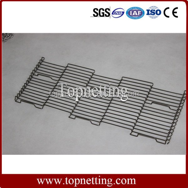 China manufacturer wholesale stainless steel flat flex wire mesh conveyor belt