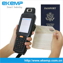 Wi-Fi/GPRS/Bluetooth Handheld Device PDA(X6) with MR ZOCR Scanner for Passports/Certificates Scanning