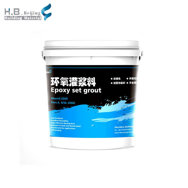 China made cheap high-strength non- shrink heat resistant epoxy set machine epoxy grout