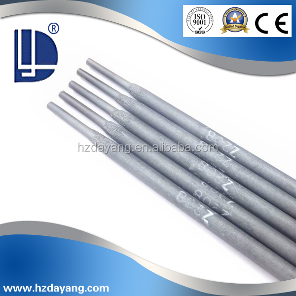 Strong graphitization type coating AC/DCcast iron welding electrode ECl Z208
