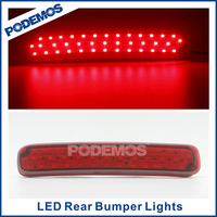 Car rear led tail light brake lamps modified led car lights car led tuning lights for Highlander 2011~2014