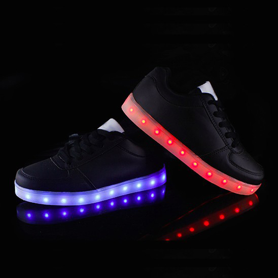 2015 Fashion comfort stylish simulation led shoes,good quality big size led shoe men led flash shoes