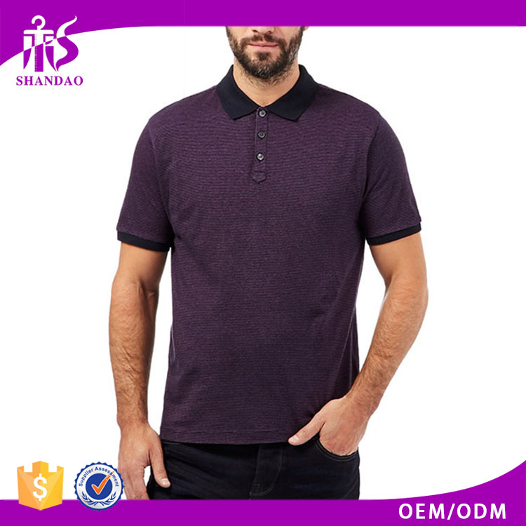 2016 Guangzhou Shandao OEM Factory New Design Summer 160g 95% Cotton 5% Spandex Short Sleeve Plain No Brand Clothing