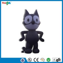 inflatable halloween black cat giant standing inflatable cat