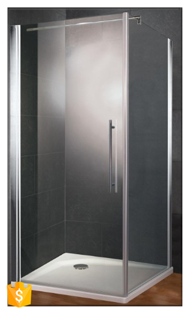 Bathroom New Products Pivot Hinge Glass Shower Doors With Top