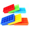 Kitchenware Make Makes 6 Extra Large Cubes square Silicone ice cube tray