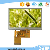4.3 inch lcd module with touch panel module industrial Use and cheap solar panels china
