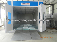 Automotive Car Spray Chamber is an industrial auto body paint booth with BELIMO damper actuator