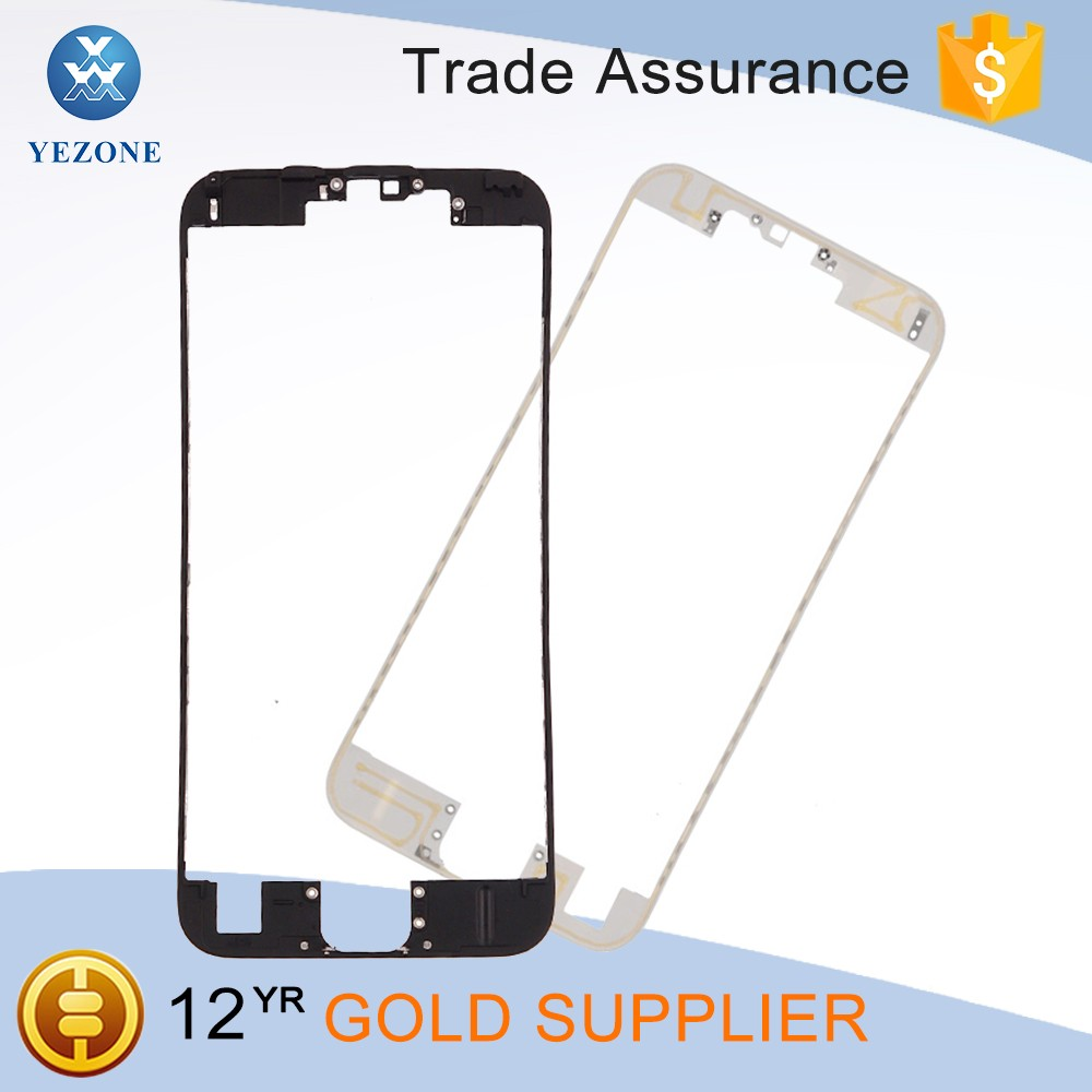"High Quality New Black Middle Frame LCD Bezel Chassis For iPhone 6S 4.7"" Inner Mid Plate"