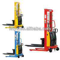 Electric stacker forklift supplier manual fork lift