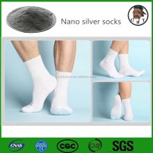With 11-year experience Anti Bacteria nano silver socks