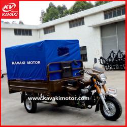 Chinese Motorcycle Company Famous Brand Three Tyres Semi Closed Cargo Motorcycle