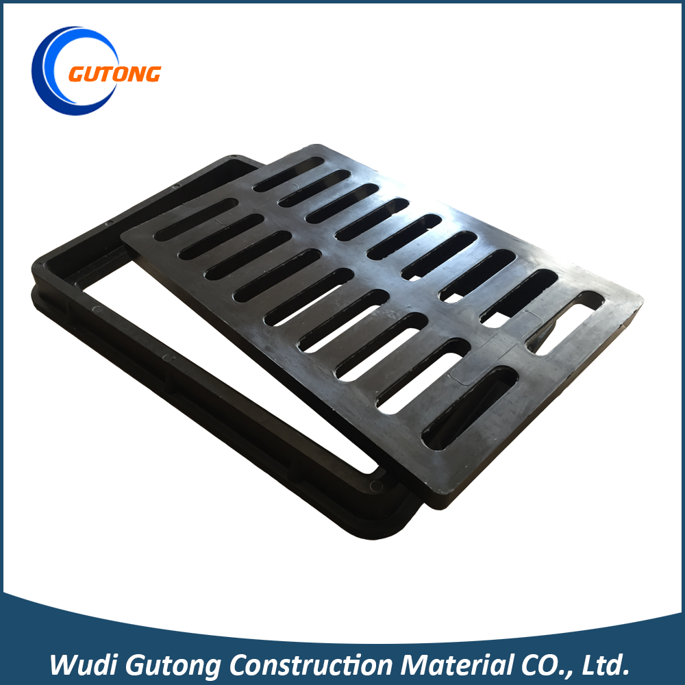 Gutong drain covers class c250 grating manhole plastic floor covering
