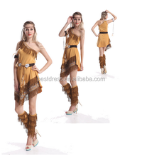 Walson Sexy Ladies Native American Indian Wild West Fancy Fiesta <span class=keywords><strong>de</strong></span> Disfraces