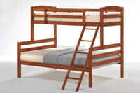 wooden bunk bed, solid wood bunk bed, double decker bed, bunk bed, bedroom furniture, wooden bed, furniture