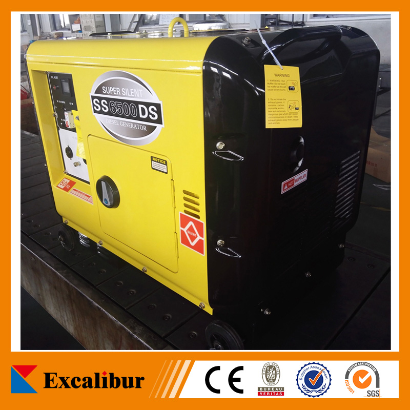 Model SS6500DS Excalibur 5 kw Air-cooled Super Silent Diesel Generator for sales