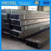 High quality hot rolled astm a36 steel i beam size