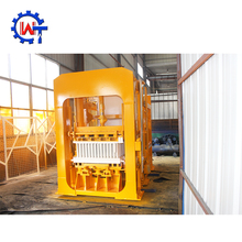 WANTE RBAND QT8 cement sand fly ash limestone block making machine in Kenya