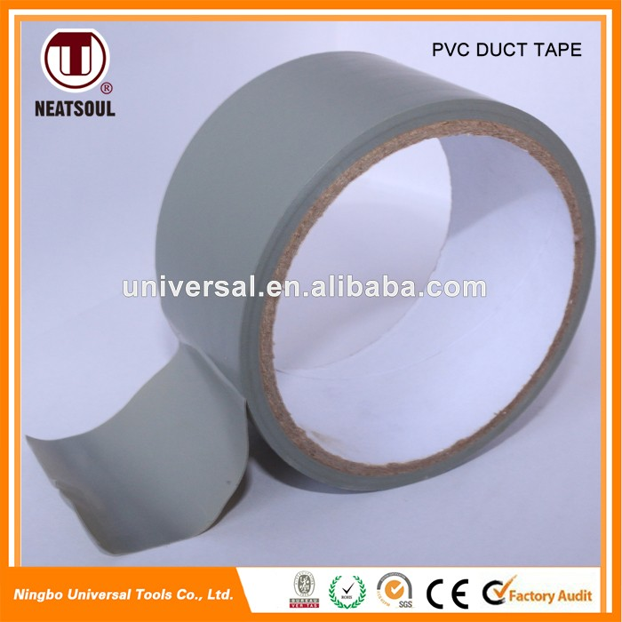 2017 New Product gray PVC Duct Tape for wrapping