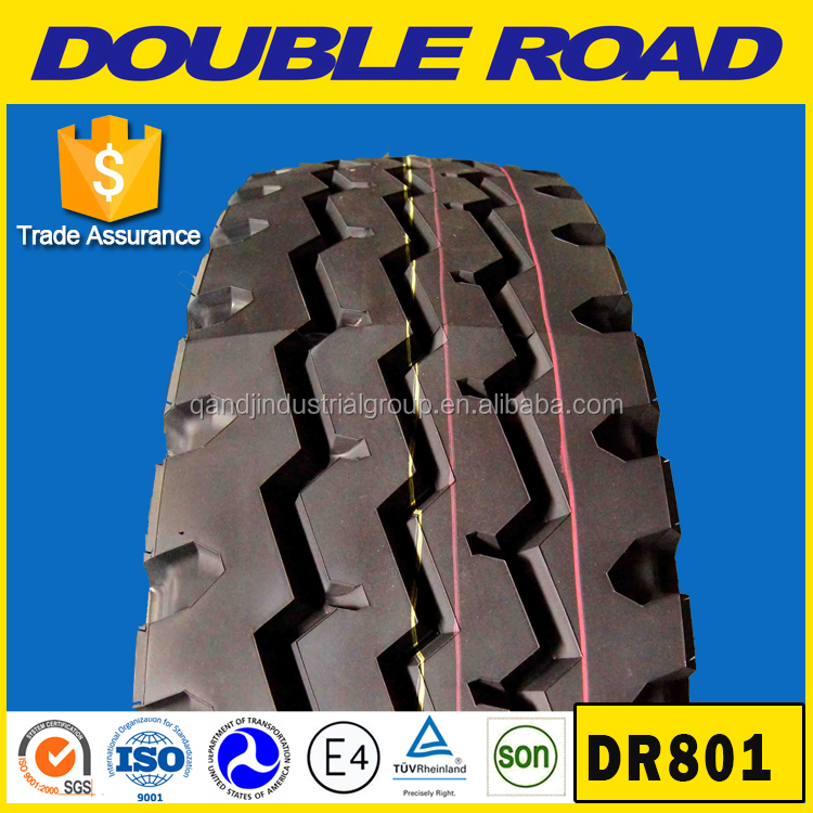 Chinese truck tyre dealers Double Road brand size 1200r20 for russian market