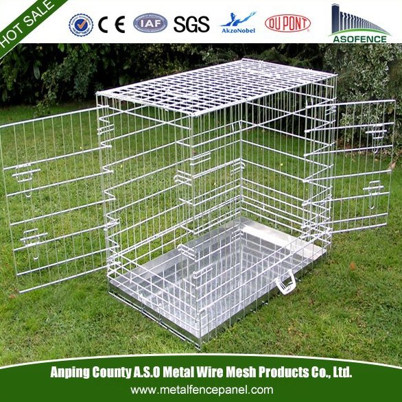 China factory supply strong stainless steel dog cage