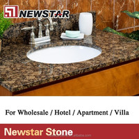 Newstar Prefab Baltic Brown granite countertops