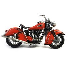 Top grade OEM design handmade antique motorcycle models with fast delivery