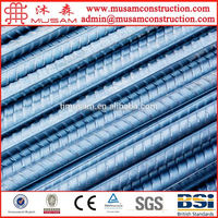 Steel rebar, deformed rebar, iron rods for construction