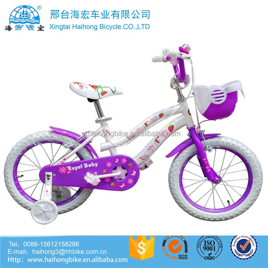 Beautiful Grils style 16 Inch Children Bike /Wholesale Kids Bike/CE approved Child Bicycle
