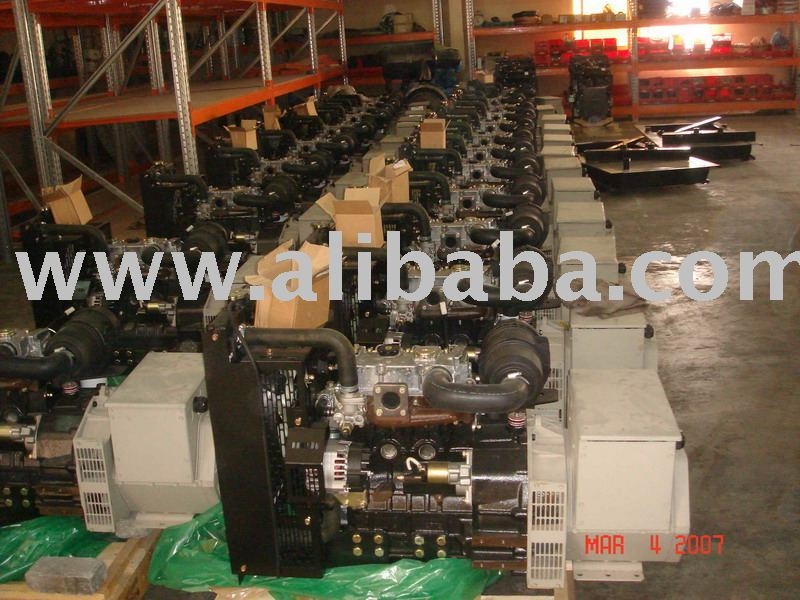 Diesel Generator Set 20 kVA (Made in U.K)