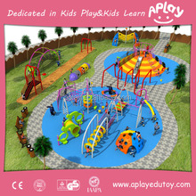 Metal climbing frames for child outside playground kindergarten Physical Training monkey bar rope net playing