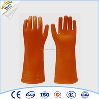 25kv electrical hand gloves Mechanical rubber gloves