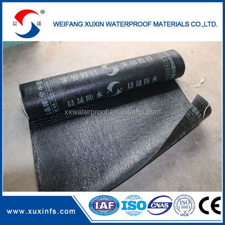 SBS Elastmer Modified Bitumen Waterproof Membrane Price