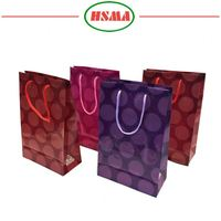 Free sample non-woven cloth shopping gift bag pp bulk gift bag